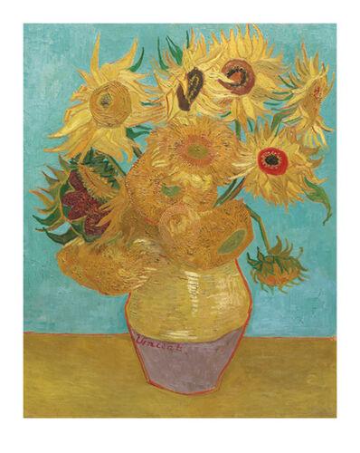 Vincent van Gogh, 'Still Life, Vase with Twelve Sunflowers, January 1889', 21st Century