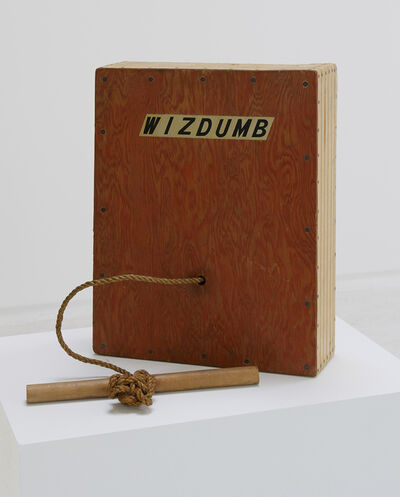 William T. Wiley, 'Wizdumb', 1968
