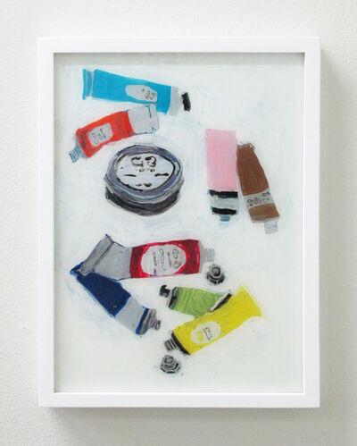 Rose Eken, 'Paint Tubes', 2016