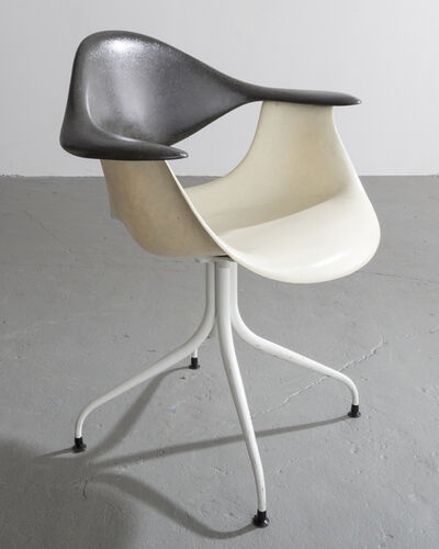 George Nelson & Associates, 'MAF Swag Leg Chair', Designed 1954
