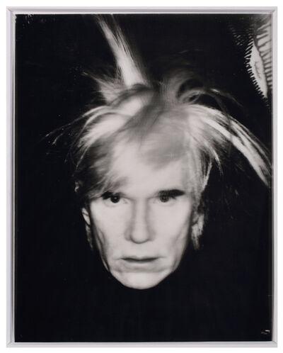 Andy Warhol, 'Self Portrait – Fright Wig', 1986