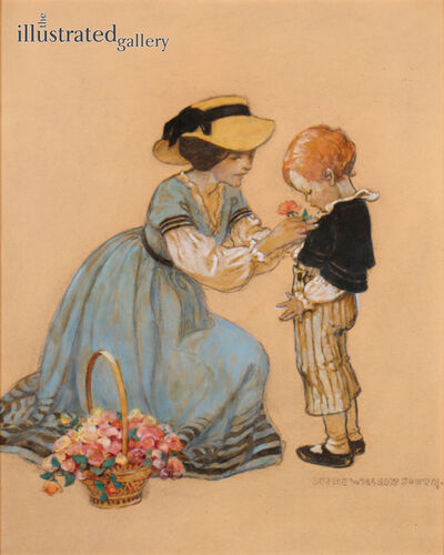 JESSIE WILLCOX SMITH, 'June 1928 Good Housekeeping Magazine Cover', 1928