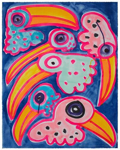Katherine Bernhardt, 'Toco Toucan Toucano', 2020