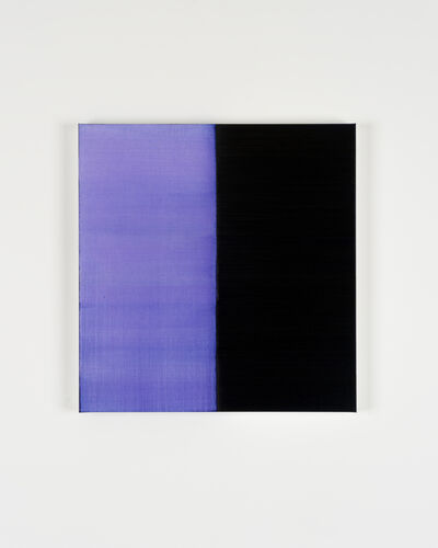 Callum Innes, 'Untitled Lamp Black No 7', 2019