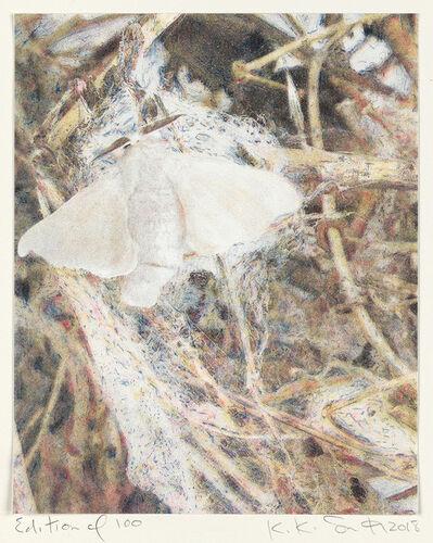 Kiki Smith, 'Silk Moth', 2018