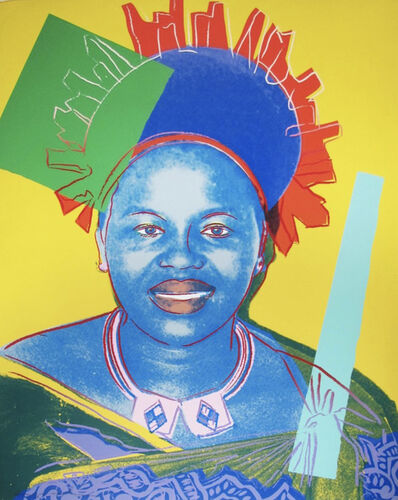 Andy Warhol, 'Queen Ntombi Twala of Swaziland', 1985