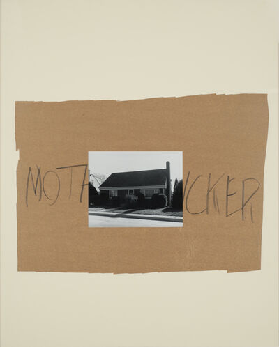 John Gossage, 'Mothcker', 1989