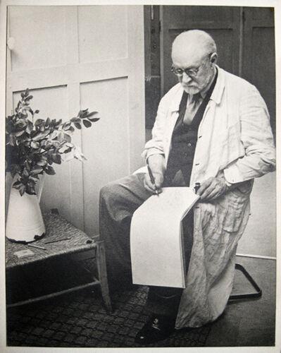 Brassaï, 'Henri Matisse Sketching (Hommage, Dessins de Matisse )', 1939