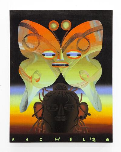 """Rachel Hayden, '""""Glowing Rainbow Moth""""', 2020"""