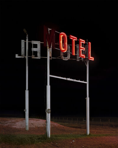 Christian Patterson, 'Motel Sign', 2008