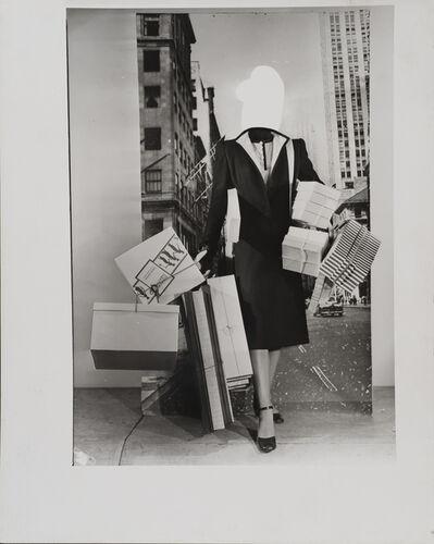 Erwin Blumenfeld, 'Fashion Montage, New York', ca. 1950