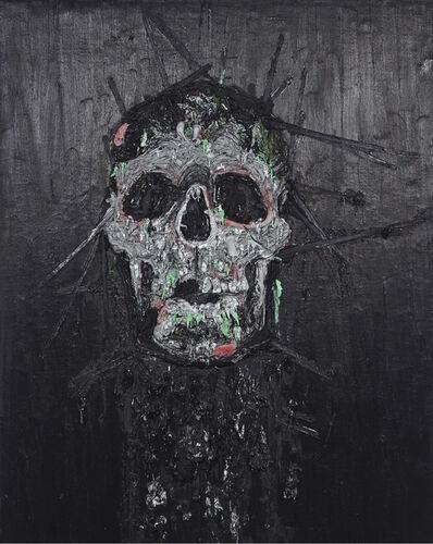 Kim Dorland, 'Skull'