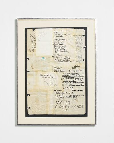 Ken Friedman, 'Untitled', 1973