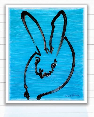 Hunt Slonem, 'Blue Bunny', 2020