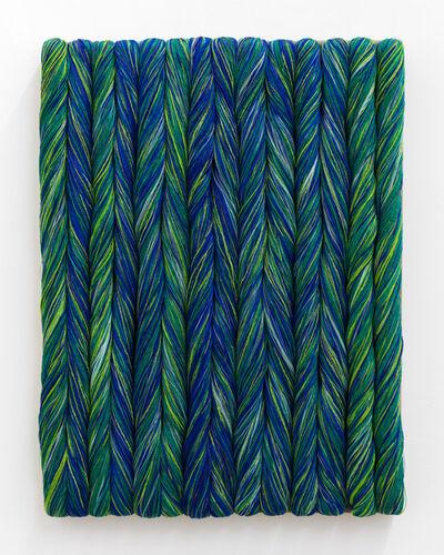 Sheila Hicks, 'Torsades émeraudes', 2017