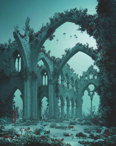 Didier Massard, 'Underwater Cathedral', 2012