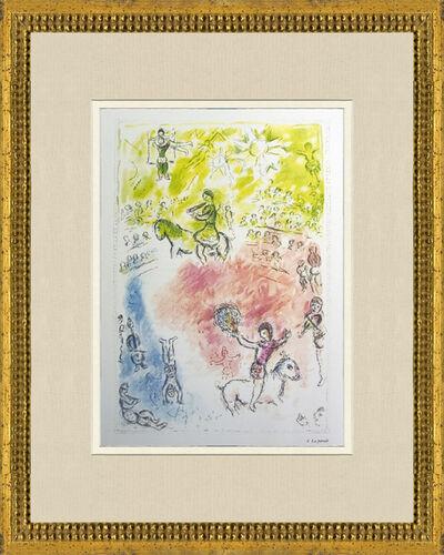 Marc Chagall, 'La Parade', 1981