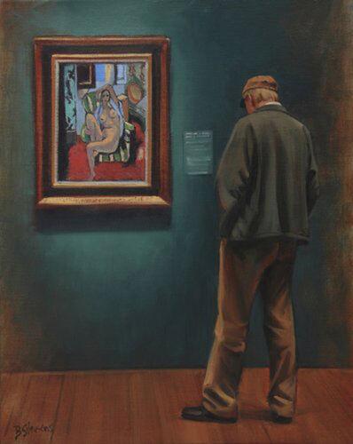 Bradley Stevens, 'Admiring Matisse', 2013