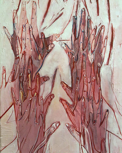 Forouz Zarei, 'Untitled (Hands)', 2019