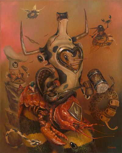Greg 'Craola' Simkins, 'Surf and Turf', 2015