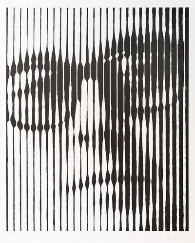 Victor Vasarely, 'Self Portrait', ca. 1980s