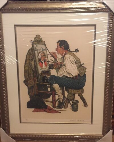 Norman Rockwell, 'Ye Olde Pipe and Bowl, 1976', 1976