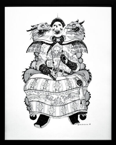 Kate Glasheen, 'Dead King 15 [5th Century Chinese Emperor]', 2018