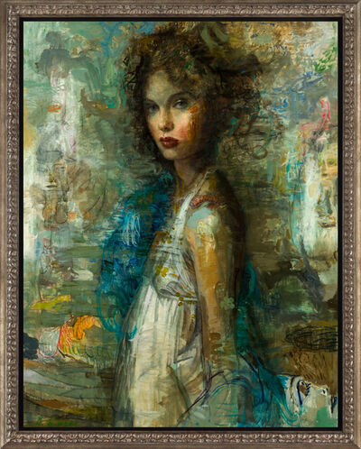 Charles Dwyer, 'Blue Muse III'