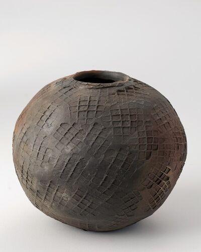 Eric Astoul, 'Vase flammé, Ceramic', La Borne, France, 2012