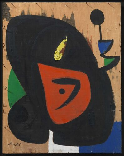 Joan Miró, 'Figure and bird', 1977-1979