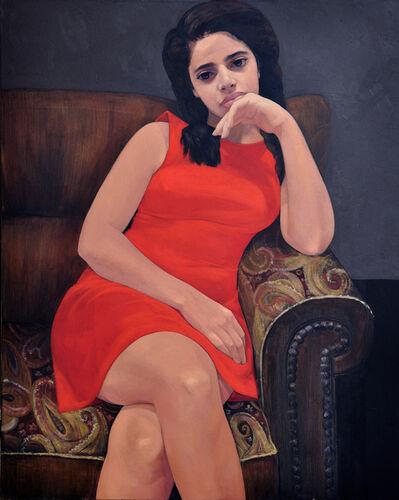 Hend Adnan, 'Red Dress', 2017