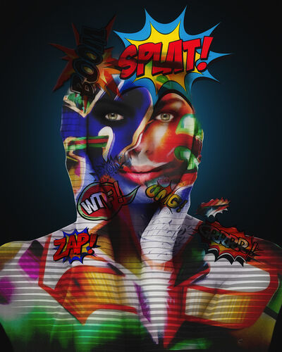 Erik Brede, 'Graffiti Girl', 2019