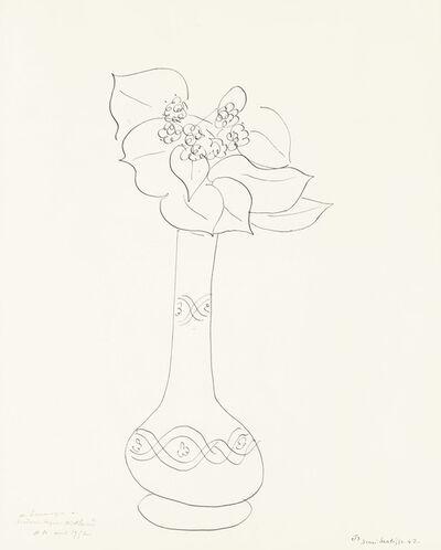 Henri Matisse, 'Fleurs dans un vase (Theme J, Variation 3)', 1942