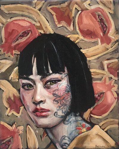 Belinda Eaton, 'Girl with Pomegranate', 2019