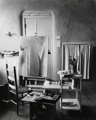 Todd Webb, 'O'Keeffe's Studio at the Abiquiu House, New Mexico', 1962