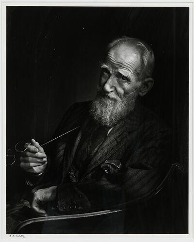 Yousuf Karsh, 'George Bernard Shaw', 1943-printed later