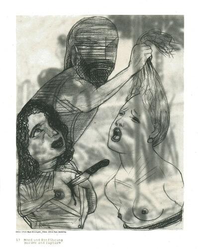 Pat Andrea, 'Klinger suite (17 Murder and rapture)', 2012