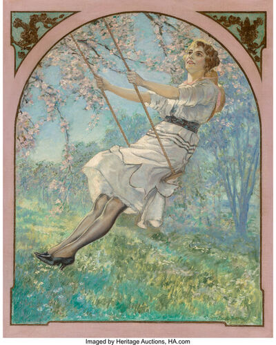 Walter Beach Humphrey, 'Lady on Swing'
