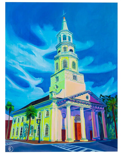 Julia Deckman, 'St. Michael's Church, Charleston, SC', 2017