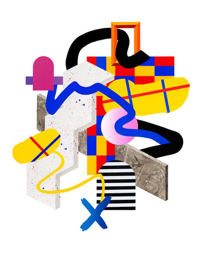 Clark Goolsby, 'Simpler Times Recut', 2017