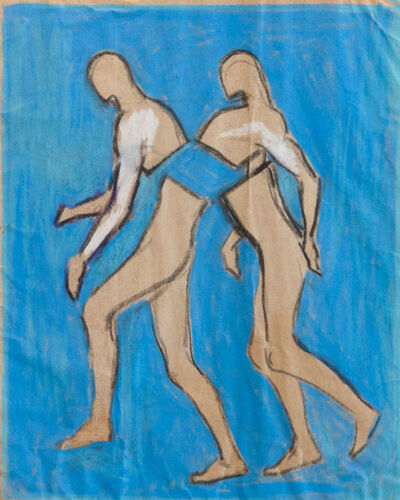 Antonio Hin-yeung Mak, 'Untitled (Intertwined men)', ca. 1975-1990