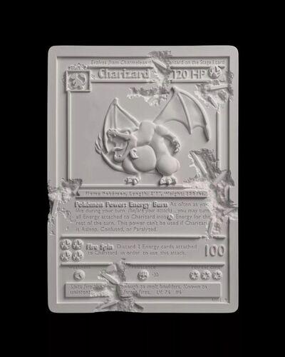 Daniel Arsham, 'Crystalized Charizard Card', 2020