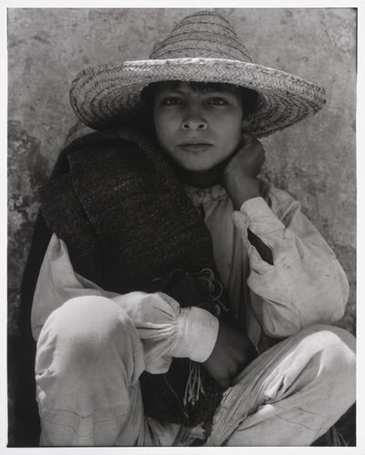Paul Strand, 'Boy, Hidalgo, Mexico', 1933