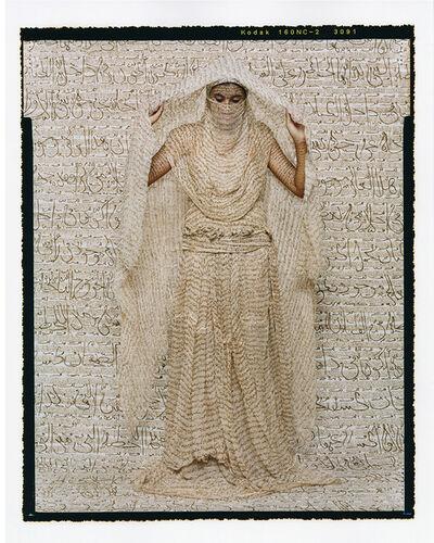 Lalla Essaydi, 'Les Femmes du Maroc: Moorish Woman', 2008