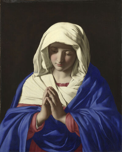 Sassoferrato, 'The Virgin in Prayer', 1640-1650