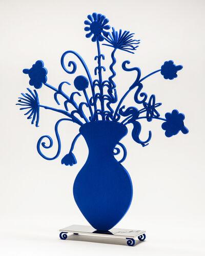 Kenny Scharf, 'Kenny Scharf, Flores Blue', 2021