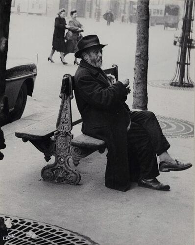 """Maurice Georges Chanu, '""""Celui qui n'a plus d'ennuis d'argent..."""" (He who has more money troubles..)', 1948/1948"""
