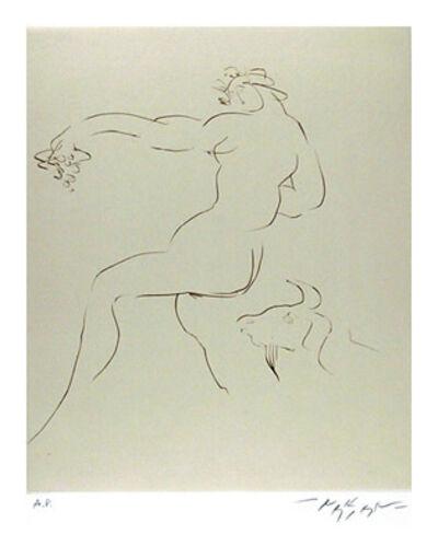 Reuben Nakian, 'Nymph and Goat 2', circa 1979