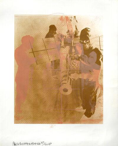 Robert Rauschenberg, 'Shell, Stoned Moon Series', 1969