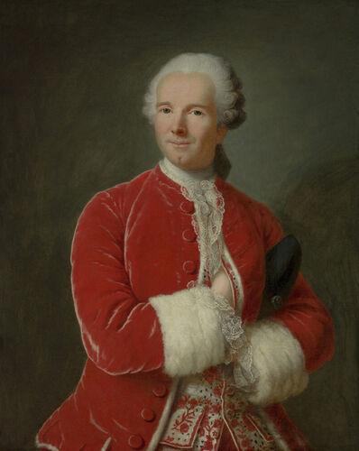Marianne Loir, 'Portrait of Monsieur de Fontaine', ca. 1760
